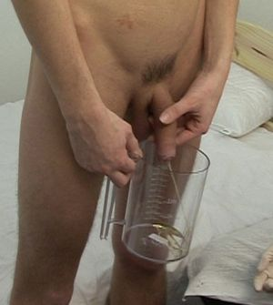 pissing fetish for urine medical exam
